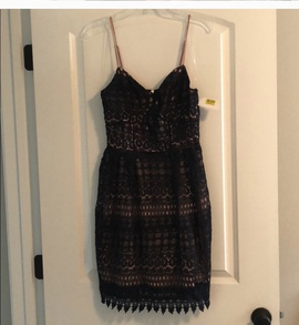 Gianni Bini Blue Size 2 Tall Height Cocktail Dress on Queenly