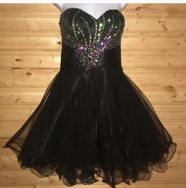 Alyce Paris Black Size 10 Homecoming Cocktail Dress on Queenly