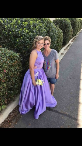 Purple Size 10 Ball gown on Queenly