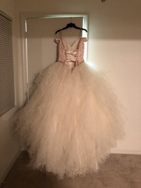 Mori Lee Pink Size 2 Prom Ball gown on Queenly