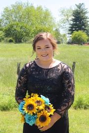 Black Size 12 Side slit Dress on Queenly