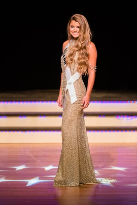 Sherri Hill Gold Size 0 Sequin Halter Straight Dress on Queenly