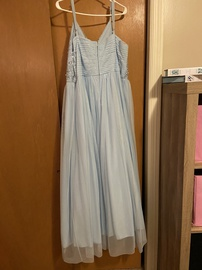 SpeechDress Blue Size 22 Plus Size Ball gown on Queenly