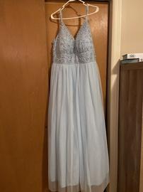 Queenly size 22 SpeechDress Blue Ball gown evening gown/formal dress