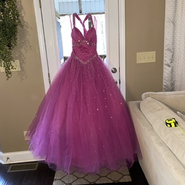 Mori Lee Pink Size 2 Quinceanera Ball gown on Queenly