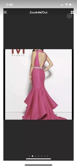 Mac Duggal Pink Size 6 Mermaid Dress on Queenly