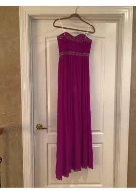 Purple Size 8 Straight Dress on Queenly