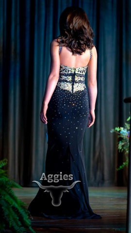 Sherri Hill Black Size 6 Two Piece Straight Dress on Queenly