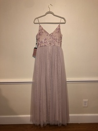 Adrianna Papell Pink Size 8 Prom Ball gown on Queenly