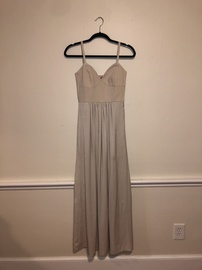 BCBG Nude Size 2 Prom A-line Dress on Queenly