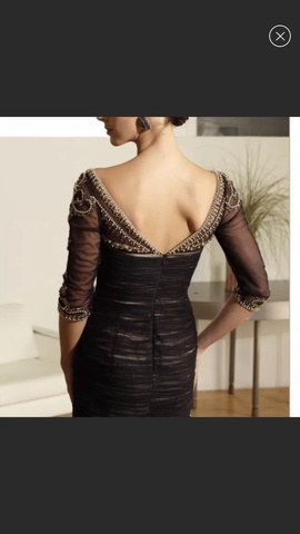 Terani Couture Black Size 4 Homecoming Backless Cocktail Dress on Queenly