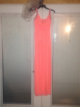 Orange Size 2 Cocktail Dress on Queenly