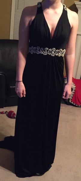Sherri Hill Black Size 6 Sherri Hill Jewelled Sequin Straight Dress on Queenly