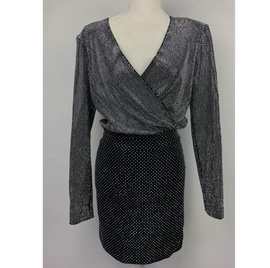 Queenly size 4 Balmain Black A-line evening gown/formal dress
