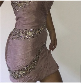 Terani Couture Pink Size 4 Homecoming Strapless Cocktail Dress on Queenly