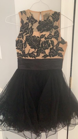 Sherri Hill Black Size 0 Homecoming Cocktail Dress on Queenly