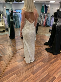 Nude Size 2 Side slit Dress on Queenly