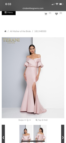 Terani Couture Pink Size 6 Mermaid Dress on Queenly