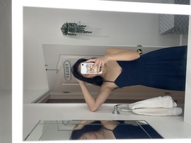 BCBG Blue Size 4 Navy A-line Dress on Queenly