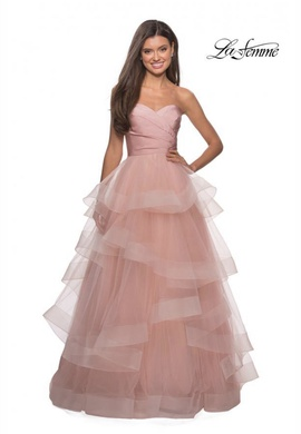 Queenly size 8  Pink Ball gown evening gown/formal dress