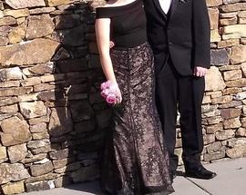 Sherri Hill Black Size 8 Mermaid Dress on Queenly