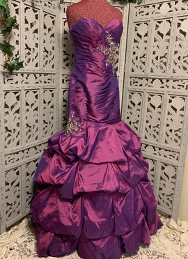 Queenly size 4 Disney Forever Enchanted Purple Mermaid evening gown/formal dress