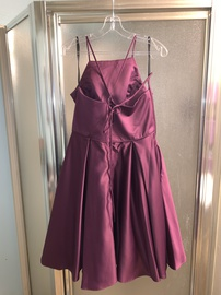 Poly USA Purple Size 14 Silk Homecoming Pockets Ball gown on Queenly