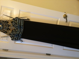Sherri Hill Black Size 4 Halter Jewelled Sequin Straight Dress on Queenly