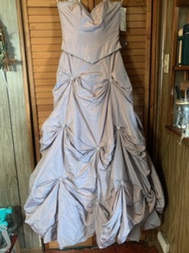 Queenly size 10  Multicolor Ball gown evening gown/formal dress