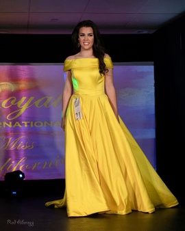 Ashley Lauren Yellow Size 4 Pageant Ball gown on Queenly