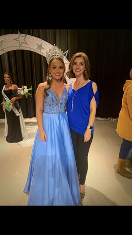 Sherri Hill Blue Size 2 Pockets Ball gown on Queenly