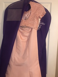 Sherri Hill Pink Size 2 Prom Jewelled Sequin Train Dress on Queenly