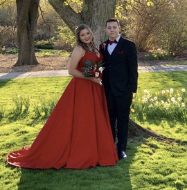 Sherri Hill Red Size 18 Plus Size Ball gown on Queenly