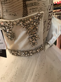 Sherri Hill White Size 6 Wedding Prom Ball gown on Queenly