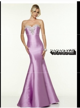 Queenly size 4 paparazzi Purple Mermaid evening gown/formal dress