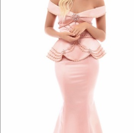 Tarik Ediz Pink Size 6 Straight Dress on Queenly