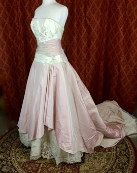 Queenly size 12 Raylia Designs Pink Ball gown evening gown/formal dress