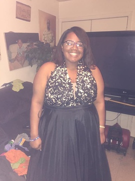 Black Size 20 Ball gown on Queenly