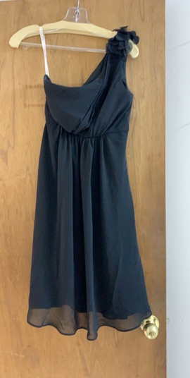 David's Bridal Black Size 2 Homecoming Cocktail Dress on Queenly