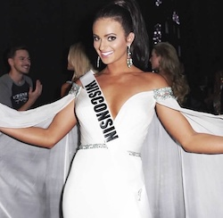 Sherri Hill White Size 4 Pageant Train Dress on Queenly