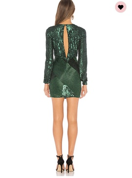 Michael Castillo Green Size 2 Short Height Cocktail Dress on Queenly
