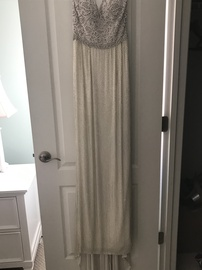 Sherri Hill White Size 4 Prom Straight Dress on Queenly