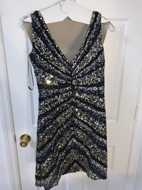 Shell Black Size 10 Backless Cocktail Dress on Queenly