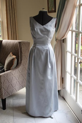 Bianci New York  Silver Size 6 A-line Dress on Queenly