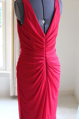 David's Bridal Red Size 8 Straight Dress on Queenly