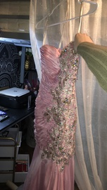 Tony Bowls Pink Size 0 Prom Sweetheart Strapless Mermaid Dress on Queenly