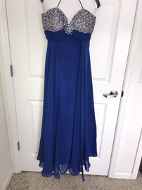 Tony Bowls Blue Size 16 Plus Size A-line Dress on Queenly