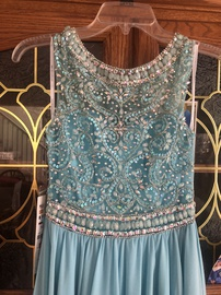 Alyce Paris Blue Size 00 Alyce Straight Dress on Queenly
