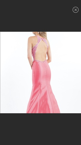 Rachel Allan Pink Size 6 Prom Mermaid Dress on Queenly