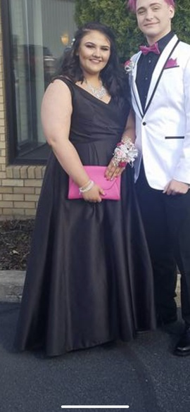 David's Bridal Black Size 22 Plus Size Ball gown on Queenly